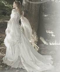 fairy style wedding dresses