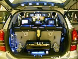 car woofer system