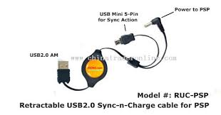 sony psp usb cable