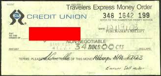 personal money orders