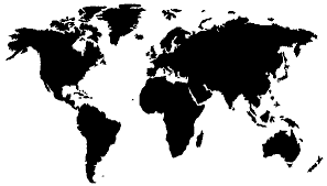 free clipart world map