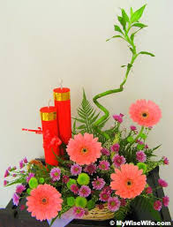chinese new year flower arrangements