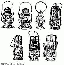 old oil lanterns