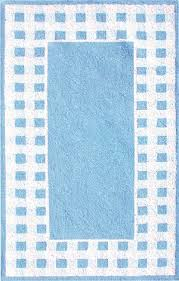 blue and white gingham