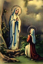 our lady of lourdes image