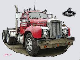 b61 mack trucks