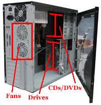 desktop computer box