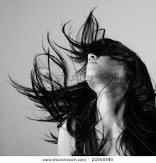 black beautiful hair