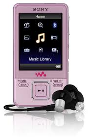 pink sony mp3