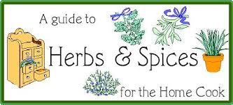 herb and spice chart