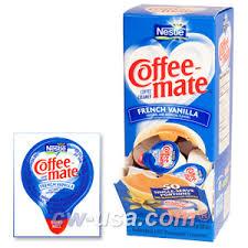 liquid coffee creamers
