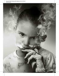 smoking art