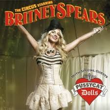britney spears circus poster