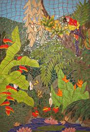 mosaic shower