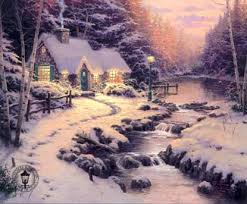 painting by thomas kinkade