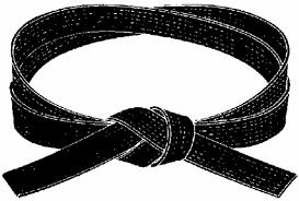 judo black belt