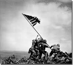 iwo jima flag raising photograph