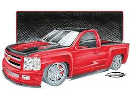 chevy truck drawings