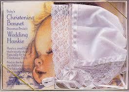 christening bonnets