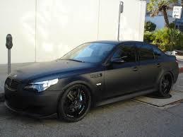 matte black automotive paint