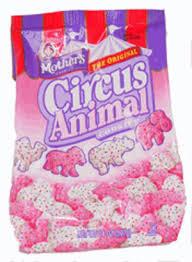 circus animals cookies
