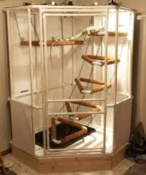 home made rat cage