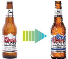 coors light bottles
