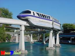 monorail disneyland