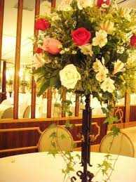 floral wedding center pieces