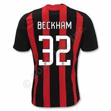 david beckham soccer shirt