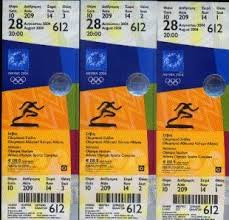 beijing olympic tickets