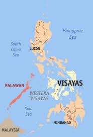 palawan philippines map