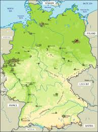 maps of german