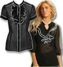 navy blouses