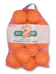 bag of oranges
