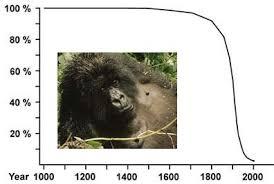 population of gorillas