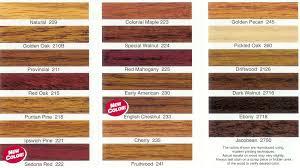 oak wood color