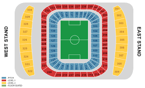 manchester city stadium seating plan