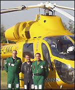 lincs air ambulance