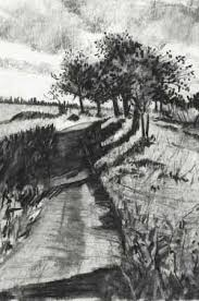 famous charcoal drawings