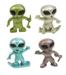 alien figurines