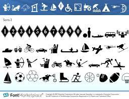 communications symbols