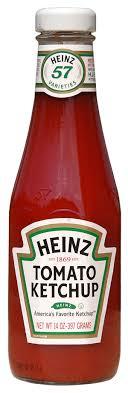 ketchup label