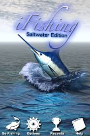 salt water fishing game