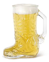 boot beer stein