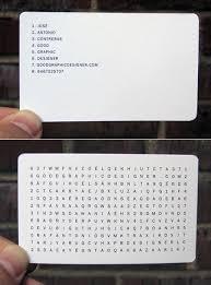 good business card design