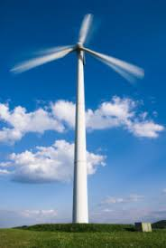 large wind turbines