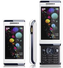 new sony ericsson touch screen phone