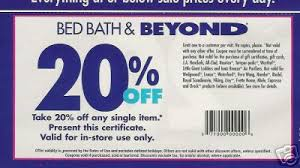 bed bath n beyond coupon