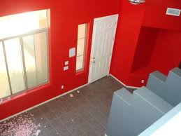 bright red paint